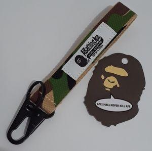 Bape A Bathing Ape Camo Keychain Accessorie